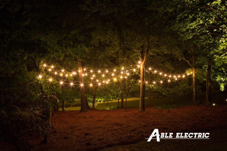 Outdoor String Lights Can Add Beauty